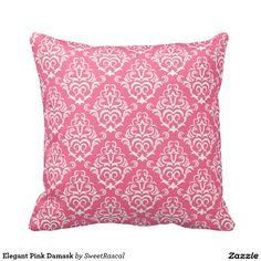 Elegant Pink Damask