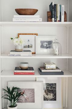 Step Inside A Dreamy 1940s Sausalito California Home - Shelf Bookcase - Ideas of Shelf Bookcase #ShelfBookcase - Shelf styling inspiration Bookshelf styling ideas Living room storage and organisation