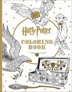 Studio Press Is To Release The First Official Harry Potter Colouring Book