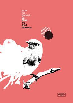 Bird #poster #design #collage