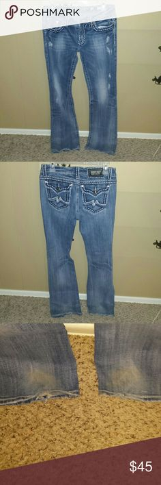 Miss me Irene boot jeans Miss me Irene boot jeans. They are in good condition. Size 30 Miss Me Jeans Boot Cut