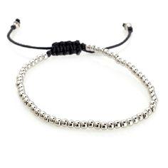 Sonoma Studios Sterling Silver Bead Drawstring Bracelet