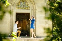 This is such a perfect surprise proposal!