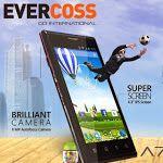 Evercoss A7, HP Android Murah Layar Sudah 4.3 Inch