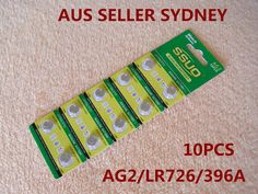 10pcs AG3/LR41/392 Button Cell Coin JAPAN STD Alkaline Battery 1.55V  Watches
