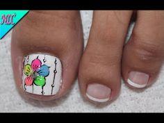 Gel Toe Nails, Gel Toes, Minimalist Nails, Cute Animal Photos, Toe Nail Designs, Dope Nails, Summer Beauty, Mani Pedi, Polymer Clay Earrings