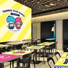 Has anyone tried the My Melody & Kuromi Pop-Up Café at Langham Place yet? Don't be upset if you're just couldn't make it, as the Little Twin Stars Pop-Up Café is coming up next! From 1 Sep to 31 Oct 2014, Little Twin Stars KIKI & LALA will turn 100 Bites at Langham Place into Little Twin Stars pop-up cafe and serve an array of lovely Little Twin Stars themed treats. Mark it on your dairy, Sanrio fans~ #allabouthongkong