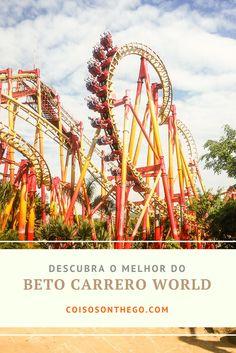 Conheça a montanha-russa FireWhip, com cinco inversões e velocidade de quase 100 km/h! Ela fica no parque Beto Carrero World em Santa Catarina, próximo ao Balneário Camboriú, o maior parque de diversões da América Latina! Confira no post as melhores atrações e brinquedos do parque Beto Carrero (Penha, Santa Catarina)
