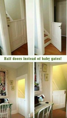 This would have been nice to have 6 years ago my kids all figured out really young how to knock a baby gate down