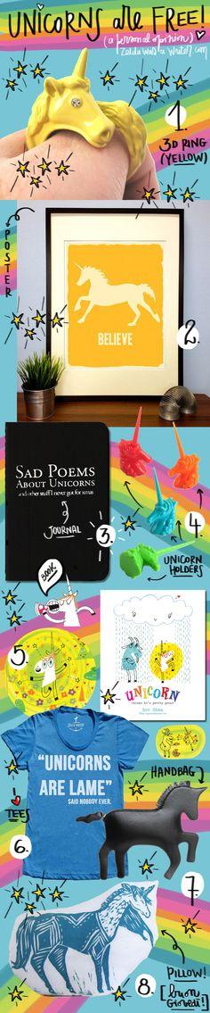 Almeno tre cose - Unicorni | Zelda was a writer