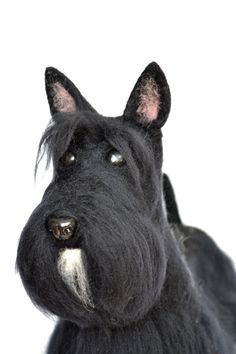 Felt dog portrait similarity of your pet.... I will by GladOArt