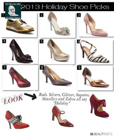 2013 Holday Shoes for Women