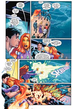 starfire learns dick grayson is still alive 1