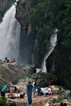 Kapuzbaşı Waterfall Kayseri