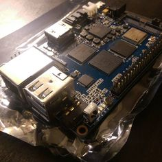 A photo from Instagram we liked! Wow wow wow the Banana Pi M3 arrived today. Excited to take this octacore chip for a spin. 2gb RAM built in WiFi and BT. This board is going to be nuts.  #opensource #bananapi #m3 #arm #linux #innovation #ubuntu #raspberrypi #maker #diy by cmdann Check us out http://bit.ly/1KyLetq