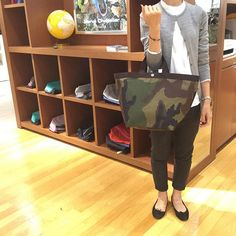 Instagram media herve_chapelier_japon - 【心斎橋】○725Wカモフラージュ シンプルな装いには 迷わずカモフラージュを…