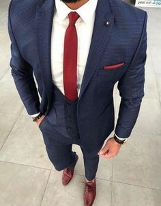 Wedding suits men fashion pocket squares 54 ideas fashion wedding new wedding suits men grey vintage mens fashion ideas Blue Suit Men, Navy Blue Suit, Navy Prom Suit, Navy Blue Prom Suits, Best Suits For Men, Cool Suits, Prom Suits For Guys, Trendy Suits For Men, Mens Fashion Suits