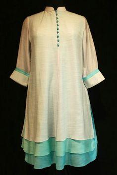 Kurta Designs Women, Blouse Designs, Ethnic Fashion, Indian Fashion, Frocks And Gowns, Kurta Patterns, Kurta Style, Desi Wear, Indian Designer Wear