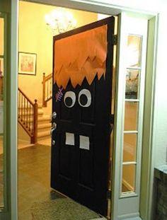 Halloween party ideas: Monster Doors - Toothy monster door - goodtoknow