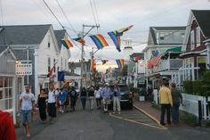 View North on South Commercial Street - Provincetown.