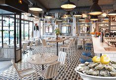 Huguette - Bistro de la Mer 81, rue de Seine - Paris #restaurant #fruitsdemer #foodlover #placetobe #lafondad #terrasse #borddemer #weekend #paris