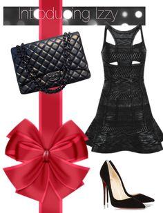 Izzy Black Foil Bandage Dress boutiquelive.co.uk