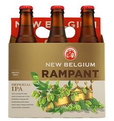 @New Belgium Brewing Rampant IPA