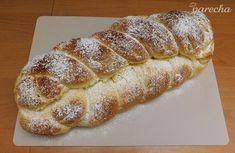 Moja vianočka (fotorecept) - recept   Varecha.sk Food And Drink, Bread, Baking, Basket, Bread Making, Patisserie, Backen, Breads, Sweets