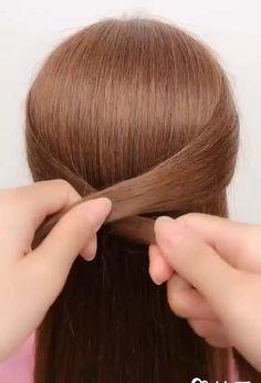 Bun Hairstyles For Long Hair, Wedding Hairstyles, Amazing Hairstyles, Hairstyle Ideas, Hair Updo, Fast Hairstyles, Easy Diy Hairstyles, Disney Hairstyles, Short Hair