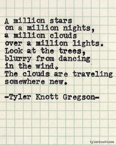 Typewriter Series #512 by Tyler Knott Gregson // This is one of my favorites