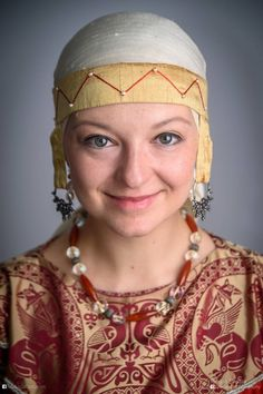 Medieval Rus headdress