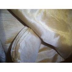 """Gorgeous Silk mettalic tissue 44"""" wide-Gold dust"""