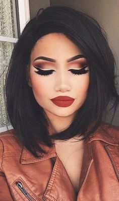 Gorgeous Makeup: Tips and Tricks With Eye Makeup and Eyeshadow – Makeup Design Ideas Makeup Hacks, Makeup Inspo, Makeup Inspiration, Makeup Ideas, Makeup Trends, Makeup Goals, Makeup Geek, Silvester Make Up, Prom Hairstyles For Short Hair