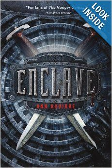 Enclave by Ann Aguirre. Books to read after Divergent or The Hunger Games trilogies. Good Books, Books To Read, Amazing Books, Ya Books, The Maze Runner, Veronica Roth, Thing 1, Book Recommendations, Hunger Games