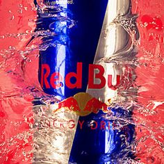 Splash Into Red Bull