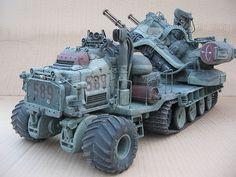 Frankentraktor 010 | Flickr - Photo Sharing! Mark Steven's 1/20th scale model.