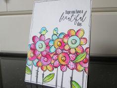Crafty Card Creation: Doodle Buds
