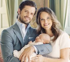 """I have to be seen to be believed"" — hrhprincesssofia:  New Official Photos Of Prince Carl Philip, Princess Sofia and Prince Alexander."