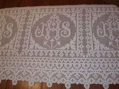 Hooked on Needles: Beautiful Filet Crochet Vestment Trim