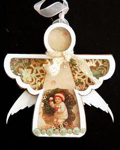 Scrapperlicious: Angel Shaker by Irene Tan using Clear Scraps angel shaker