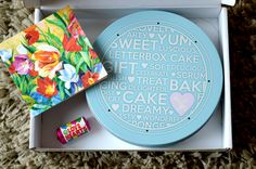Twinmummyyummy: Review and Giveaway - Baker Days Letterbox Cake