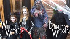 Whitney and Blakely's Halloween