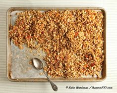The perfect homemade granola recipe you've been looking for.