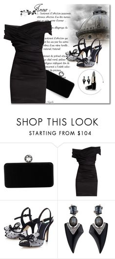 """""""Aunt Florrie"""" by anjelakewell ❤ liked on Polyvore featuring Swarovski, Dolce&Gabbana, Miss KG and Alexis Bittar"""