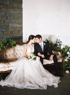industrial modern Colorado wedding inspiration - photo by Connie Whitlock… Chic Wedding, Wedding Events, Dream Wedding, Wedding Ideas, Wedding Hair, Wedding Locations, Luxury Wedding, Wedding Bells, Wedding Bride