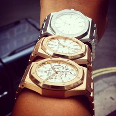 Steel or Rose Gold? Chrono?