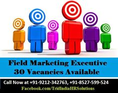 #JobAlert : Require 30 #FieldMarketing Executive in #Noida #Delhi - Email your Resume at hr@tridindia.com  or Call Now at +91-9212-342763, +91-8527-599-524  #ncrjobs #delhijobs #jobs