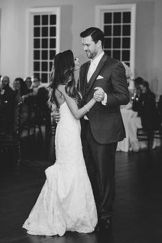 First Dance | The Milestone Aubrey Mansion |  Natalie Gore and James Casey Wedding Day | Stella York