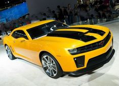 2011 Camaro 2SS Bumblebee Edition. i would do anything to have this car. it's hilarious that they made this after the transformers movie. :)