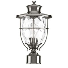 Progress Lighting P6411-13 Beacon Collection Outdoor S. Steel Post Lantern